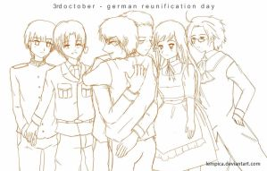 german reunification day by lempica