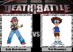 Death Battle idea Ash vs. Tai by PRS3245