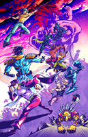 Stardust Crusaders by MaximoVLorenzo