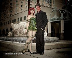 Poison Ivy + Two Face [131] Sacanime W-2013 by zipdodah