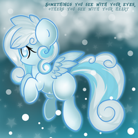 Somethings you see with your eyes by GlitterBell