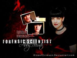 Forensic Scientist Abby Sciuto by KissofCrimson