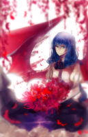 Red Lotus by FireFly-Rain