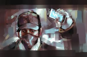 watch dogs by AndyAlbarn
