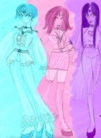 Magical DISCO Girls by Thulesse