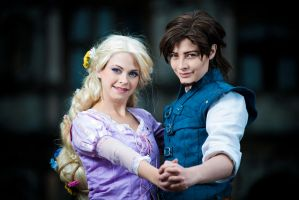 .: Rapunzel + Eugene :. by TheLupin