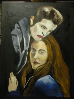 .Edward and Bella. by CRCstinger