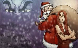 Holiday Wars: The Spirit by MichaelOdomArt