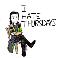 Thursdays by ChibiChild16