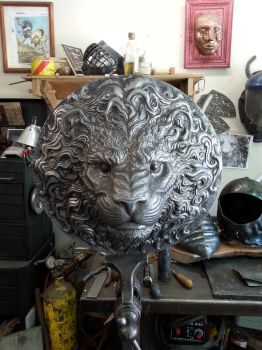 The Lion Head by TimeTurbine