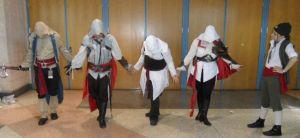 Metrocon 2012: Assassin's Creed - Pose by Cynuyasha