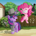 Twi and Pink, Freelance Police by BerryPAWNCH