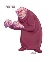 Fester : Addams Family by Kravenous