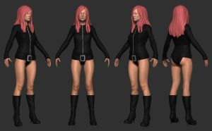 Leather Girl V2.0 by screenlicker