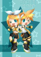 Vocaloid: Rin And Len by haru-naru