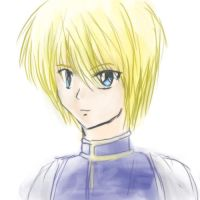 HxH: Kurapica sketch by ShadowDragon22