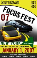 Focus Fest Poster by Duratec