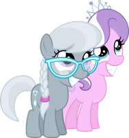 We are the cutest when we smile by MacTavish1996