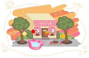 Summer at Duckys Cafe by Buried-Above-Love