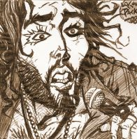 Russell Brand by cheshirecatart