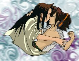 Shaman King, Hao X Yoh by MasterOfEvil
