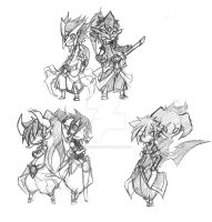Class-sketches by kaizer33226