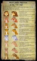 TUTORIAL: About felines differences by Fur-kotka