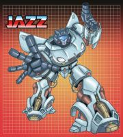 Autobot Jazz COLOR by clagala