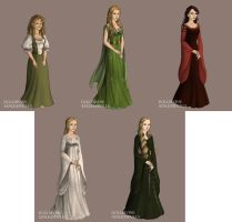 Women of Lord of the Rings by jjulie98