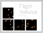 7 light textures 100x100 px by Kiho-chan