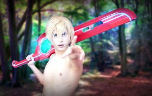 Shulk Cosplay - Xenoblade Chronicles by hakucosplay