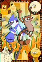 Regular Show 3D by jiggly