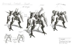 UCR mecha design 001 by AndyND