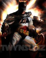 The Dark Knight by Twynsunz