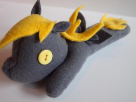 'Derpy Hooves' MLP Beanbag Plush by karlztheunicorn