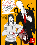 ASK Jeff the Killer and SlenderMan by Sombrero-de-Copa