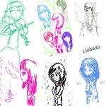 Sketchs by llobarbi