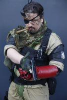 Punished Snake MGSVTPP cosplay by M4n1nm1rr0r