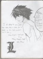 L from Death Note by XxXk3tXxX