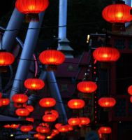 Chinese Lanterns by amygdaladesign
