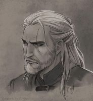The Witcher III fanart by Orpheelin