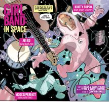 GIRLBAND: IN SPACE Preview by TerryDodson