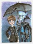 MM: Romance in the Rain by sharkie19