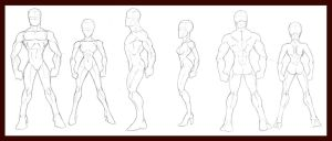 Human Figure Breakdowns by dawnbest