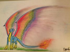 Wings of color by Dragon-of-Faith