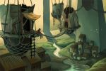 Shantytown concept- top view by Biffno
