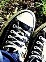 My Converses. by Guitarist4LFE