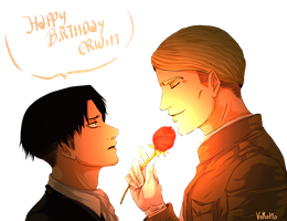 Happy Bday Erwin by Vorono