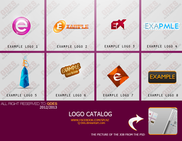 LOGO CATALOG . FOR EXAMPLE =D / NO NE9ALA PLS by Q-des