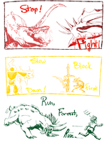 :B-E HW: Knight .:Fight Club:. Page 2 by DrawingFoxxer